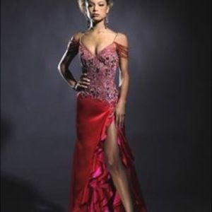 Jovani pageant dress by Sherri Hill
